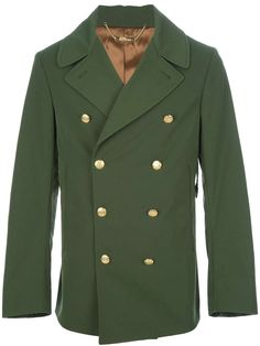Alexander McQueen military peacoat   military inspired menswear   mens style   mens fashion   wantering   mens jacket