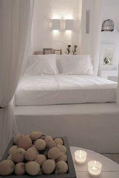 Blanc rustique et matières naturelles sur @decocrush - www.decocrush.fr