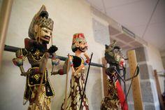 Exposition de marionnettes à la médiathèque de Felletin du 17 septembre au 18 octobre 2014 ©Service Communication Communauté de Communes Creuse Grand Sud - M.S.