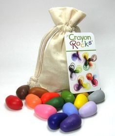 Crayon Rocks are safe and non-toxic crayons, made from all-natural, USA-grown soy wax, using natural mineral pigments. Created by a special education teacher, who was looking for a crayon to help deve Brisbane Kids, Special Ed Teacher, Special Education, Crafts For Kids, Arts And Crafts, Wax Crayons, Muslin Bags, Cotton Muslin, Waldorf Toys
