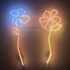 Neon Artwork, Neon Flowers, Love Each Other, Neon Signs, Artist, Prints, House, Home, Artists