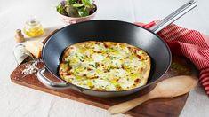 Italiensk pizza kan være kjappere å lage fra bunnen av enn frossenpizza. Her får du trikset som gjør det mulig å oppnå ekte steinovnspizza hjemme. Alt du tr...