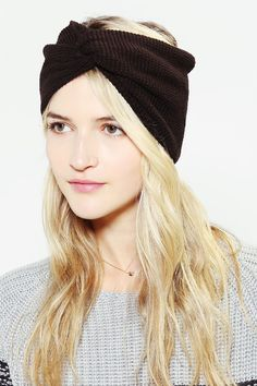 Waffle-Knit Headwrap - Urban Outfitters