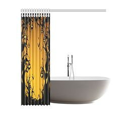 Happy Halloweens Day Gifts Waterproof Bathroom decor Fabric Shower Curtain Polyester 60 x 72 inches * A lot more information might be located at the photo link. (This is an affiliate link). Halloween Shower Curtain, Photo Link, Fabric Shower Curtains, Fabric Decor, Happy Halloween, Bathtub, Bathroom, Gifts, Standing Bath