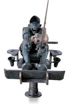 """""""Wahoo"""", Bronze #sculpture by Cedric Loth at #Gallery Saint-Dizier on.fb.me/I81Fr4"""