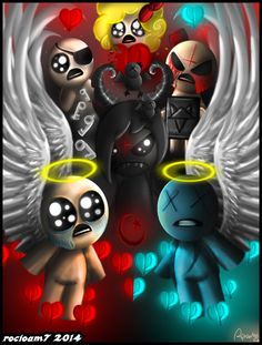 The Binding of Isaac by rocioam7