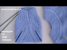 Jersey De Bebé Carlitos Ii Also English - Diy Crafts Diy Crafts Knitting, Baby Kostüm, Knitted Romper, Diaper Covers, Baby Pants, Baby Costumes, Baby Knitting Patterns, Knit Crochet, Youtube