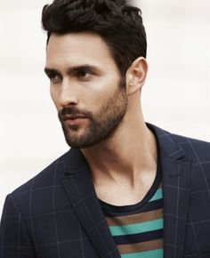 Noah Mills by Terry Richardson for Esprit S/S 2013 Noah Mills, Adam Senn, Terry Richardson, Modern Gentleman, Wattpad, Hair And Beard Styles, Actor Model, White Man, Black White