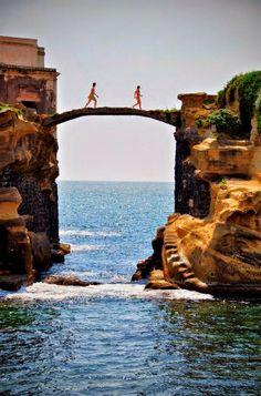 Gaiola Island Napoli, Italy