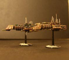 Battlefleet Gothic, Imperial Light Cruiser, Imperial Navy, Space