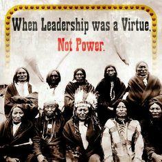 Native American Indians Leadership