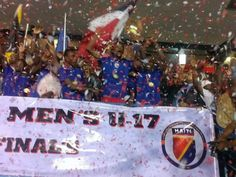 Haïti Champion Coupe Caraibe - U-17