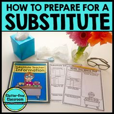 How to Plan for a Sub, Write Sub Teacher Plans & Make a Sub Binder | Clutter-Free Classroom | Bloglovin'