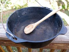 How to Restore and Season a Cast-Iron Dutch Oven   Field & Stream