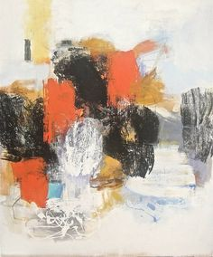 """Matador Beach,"" abstract painting by Robert Kingston 