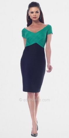 Built in shapers make you look amazing 10 lbs thinner seriously and no spanx needed! Green Two Tone Cocktail Dresses from NUE by Shani......Price - 1 - Og2vZA5b