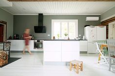 Sisustusblogi Rauma | Uusia ideoita kotiin | Gloria-keittiöt | Gloria-keittiöt Oy Baby Room, Flooring, Living Room, Interior, Kitchen, Table, House, Furniture, Home Decor