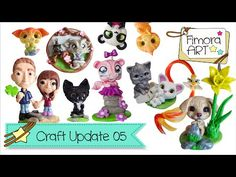 [Fimora Art] ... Craft Update Nr. 05 ... Polymer Clay Creations - YouTube