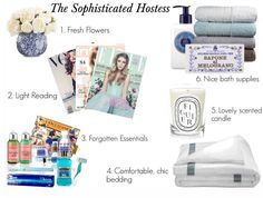 The Sophisticated Hostess: Pampering Your Guests