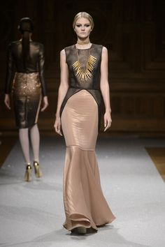 Défile Oscar Carvallo Haute couture Automne-hiver 2014-2015 - Look 15