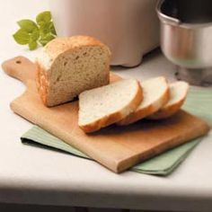 "Mini Italian Herb Bread Recipe -""I like to plan an Italian meal around this delicious bread,"" writes Mary Schneider of Aurora, Colorado. ""I also take several loaves to our charity bake sale, and they're gone in minutes."""