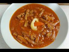 Pacalpörkölt - Az én alapszakácskönyvem - YouTube Thai Red Curry, Chili, Soup, Ethnic Recipes, Youtube, Anna, Red Peppers, Chile, Soups