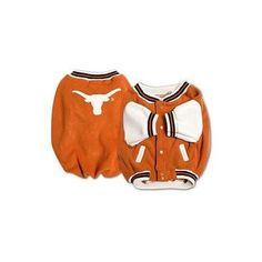 Sporty K9 Texas Varsity Dog Jacket Small ** Click on the image for additional details.