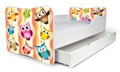 Detská posteľ Sovička + šuflík