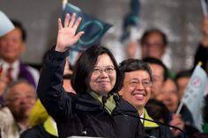 Tsai Ing-wen presidenta electa de Taiwán. EFE<br/> Presidenta de Taiwán visitará Honduras a principios de enero