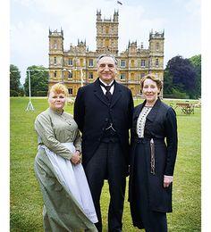 Mrs. Patmore, Mr. Carson, Mrs. Hughes