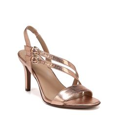 6e3cc7465baf Naturalizer Women s Kayla Medium Wide Dress Sandals (Copper) Dress Sandals