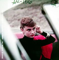 Audrey Hepburn photographed by Milton H. Greene in Malibu, California for Look Magazine, 1953.