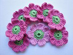 Ravelry: Juliettes Crochet Flower Pattern pattern by Maria Manuel