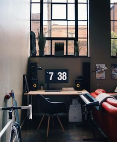 Home Office Designs - Home offices are now a norm to modern homes. Here are some brilliant home office design ideas to help you get started. Home Design, Home Office Design, Interior Design, Cool Bedrooms For Boys, Home Office Setup, Office Decor, Game Room Design, Workspace Inspiration, Room Setup