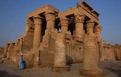 Kom ombo Temple is one of the most beautiful temples in Egypt.