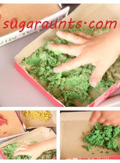 Textured Paint for Sensory Play