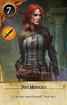 Triss Merigold (Gwent Card) - The Witcher 3: Wild Hunt