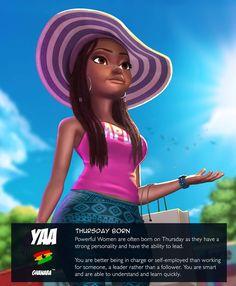 Black Girl Cartoon, Black Girl Art, Black Women Art, Black Girl Magic, African American Art, African Women, African Art, Ghana Art, Black Royalty