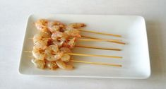 BBQ is on: Garnalenspies Shrimp Skewers, Large Shrimp, Teppanyaki, Outdoor Cooking, Soul Food, Barbecue, Grilling, Healthy Eating, Tasty
