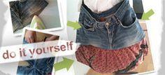 Upcyling: Coole Tasche aus alter Jeans nähen - Schritt für Schritt Anleitung