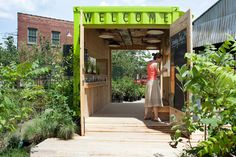 Great for a pop-up store  shipping container house levitt goodman