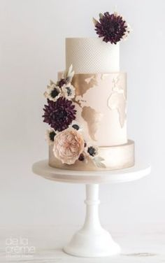 De la Crème Wedding Cake Inspiration