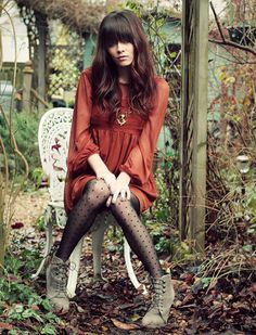 The Secret Garden (by Rachel-Marie Jones) http://lookbook.nu/look/1480295-The-Secret-Garden