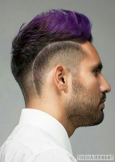 Men's Hair: 30 Manly Makeovers for Everyday Inspiration - Look created by @thehairrobot