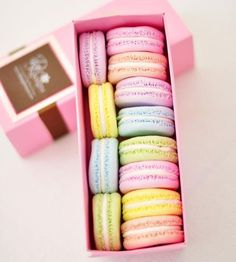 Clay French Macarons, Set of 12 by DK Designs