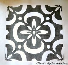 stencils of paisley design | Stencil Pattern - Chaotically Creative.com via Paisley ... | stencils