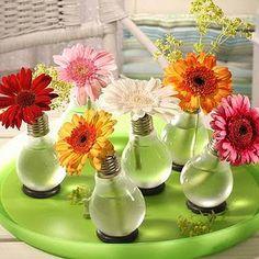 Vasos de Flores com Lâmpadas Passo a Passo 02