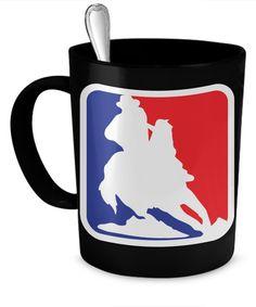 Barrel Racing NBA Mug brnba
