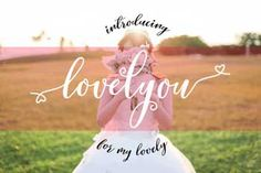 Love You Free Font Commercial Use