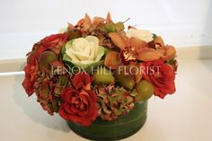 Autumn Flower Arrangement - Fall Centerpiece - Flower Arrangements